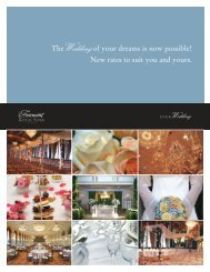 to see the Wedding Packages (PDF) - Romantic Planet Vacations