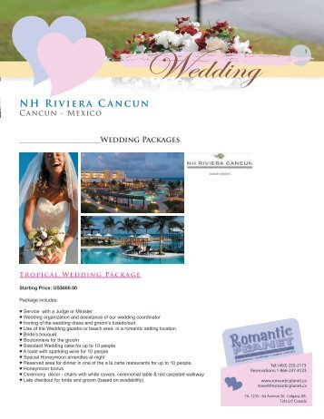 Wedding - Romantic Planet Vacations