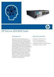 HP ProCurve 2615-8-PoE Switch - Rombus