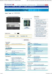 Supermicro | Products | SuperServers | 4U | 6047R-E1R36N - Rombus