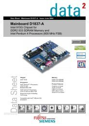 Mainboard D1837-A - Rombus