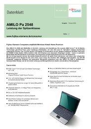 AMILO Pa 2548 - Rombus