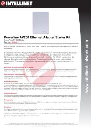 Powerline AV200 Ethernet Adapter Starter Kit - Rombus