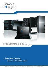 ProduktKatalog 2012 - Rombus