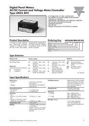 Digital Panel Meters AC/DC Current and Voltage Meter/Controller ...