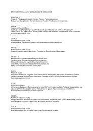 BRUSTZENTRUM und GYNÄKOLOGISCHE ... - RoMed Kliniken