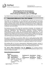 Entgelttarif 2012.11.01 - RoMed Kliniken