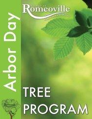 Arbor Day Brochure.indd - Village of Romeoville