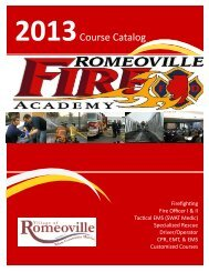 2013 Course Schedule Catalog