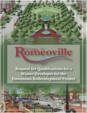 Downtown Master Plan - Village of Romeoville