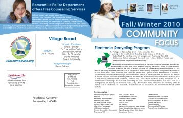 page 4 - Village of Romeoville