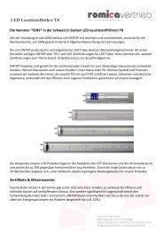LED Leuchtstoffröhre T8 - LED Leuchtmittel