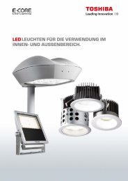 Toshiba Leuchten - LED Leuchtmittel