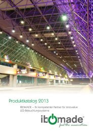 Produktkatalog 2013 - LED Leuchtmittel