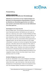 Pressemitteilung Waidmannsheil zur SilberBrunnen Glückskleberjagd
