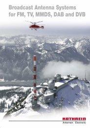 Druckschrift 9981.0190, Broadcast Antenna Systems - Romkatel