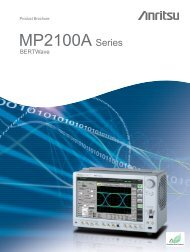 Product Brochure MP2100A Series - Romkatel
