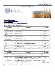 Website Retail Price List 2012-13 - Berting Glass