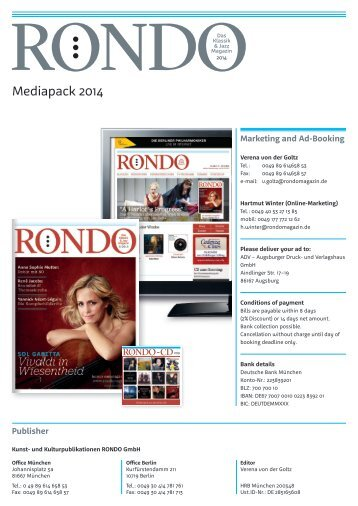 Download Mediapack (english) PDF - Rondo