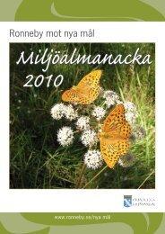 Miljöalmanacka 2010 - Ronneby kommun