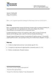 Barn- och ungdomspolitisk strategi för Ronneby kommun 2012-2015