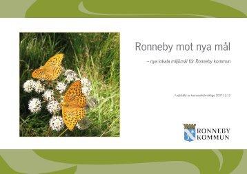 Ronneby mot nya mål - Ronneby kommun