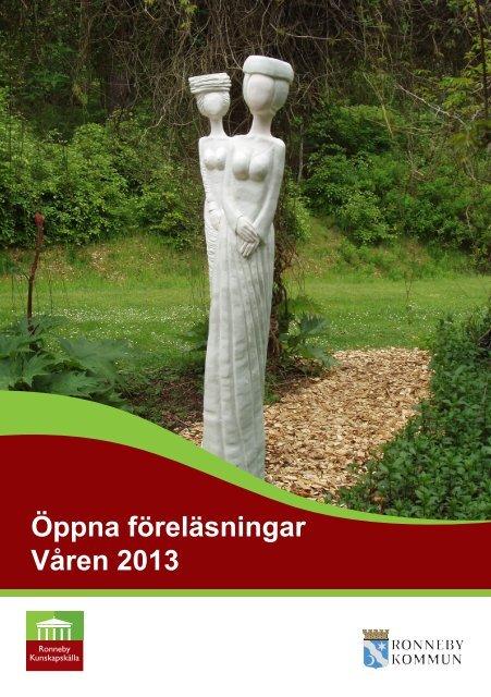 Öppna föreläsningar Våren 2013 - Soft Center