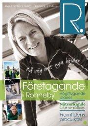 Företagande - Ronneby kommun