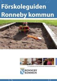 Förskoleguiden Ronneby kommun