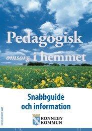 Snabbguide - Ronneby kommun