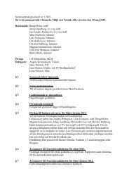 Sammanträdesprotokoll nr 2 den 1999-12-01 - Ronneby kommun