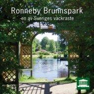 Ronneby Brunnspark - karte