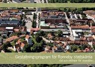 Gestaltningsprogram för Ronneby stadskärna - Ronneby kommun