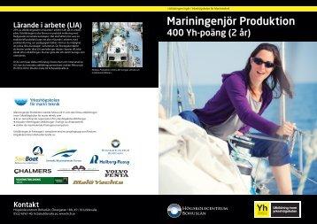 VT12 Mariningenjör Produktion studerande.indd