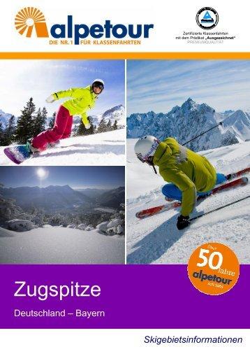 Zugspitze - Alpetour Touristische GmbH