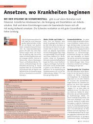 Ansetzen, wo Krankheiten beginnen - Halag Chemie AG