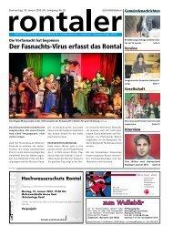 2013-02 - Regionalzeitung Rontaler AG