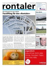 2013-01 - Regionalzeitung Rontaler AG