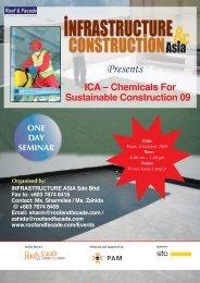 Constr Chem09 brochure - Roof & Facade