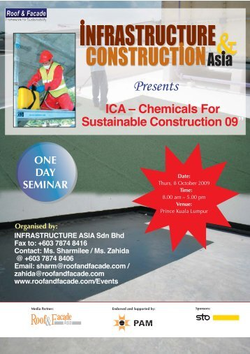 Constr Chem09 brochure - Roof & Facade