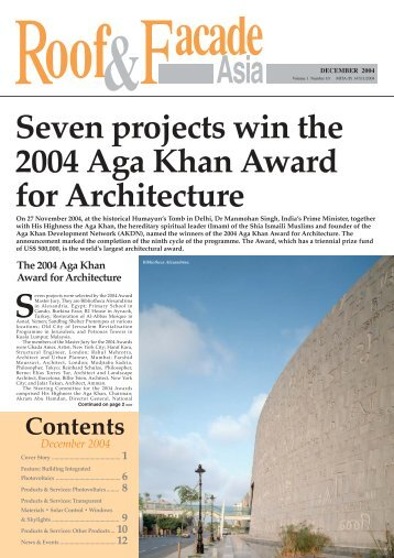 p/Cover Story/Dec04 - Roof & Facade