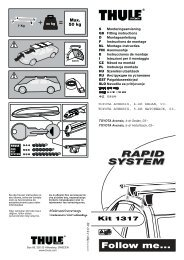 RAPID SYSTEM RAPID SYSTEM - Roofracks.co.uk