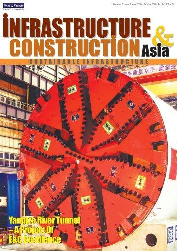 Yangtze River Tunnel – A Project Of E&C ... - Roof & Facade
