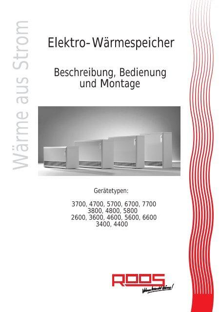 beschreibung bedienung montage pdf roos gmbh. Black Bedroom Furniture Sets. Home Design Ideas