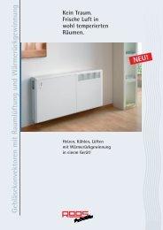 Katalogservice Heizungs-, Lüftungs- und Klimatechnik Roos