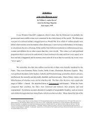 America and the Holocaust - Roosevelt Institute