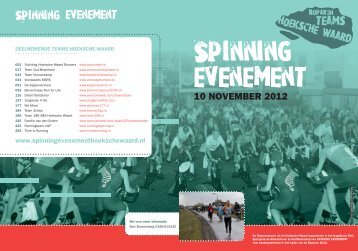 Spinning evenement - Roparun