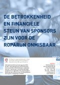Stichting RopaRun Steunt menSen met kankeR, kunnen Wij op uW ... - Page 6