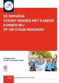 DeR RopaRun unteRstützt kRebskRanke Menschen, können wiR ... - Page 3