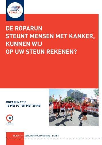 Frans-Nederlandse flyer - Roparun